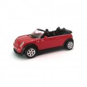 Welly Mini Cooper S Cabrio kisautó, 1:60-64
