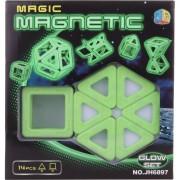 Lamps Magnetická stavebnice 14 ks svítící