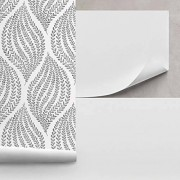 Brewster A200 Lining Paper Unpasted Lining Paper Wallpaper, 20.5-Inch by 206-Inch, White