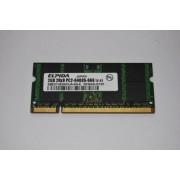 Memorie Laptop - ELPIDA 2GB 2Rx8 PC2-6400S-666 12-E1