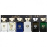 Amouage Miniatures Bottles Collection Men lote de regalo III Lyric, Epic, Memoir, Honour, Interlude, Fate eau de parfum 6 x 7,5 ml
