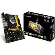 Matična ploča Reparirana - Biostar LGA1151 TB250-BTC PRO, PCI-e/DDR4/SATA3/GLAN/7.1/USB 3.0