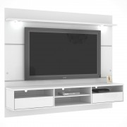 Home Suspenso Angra com Led - Branco - Mira Rack