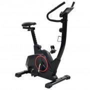 vidaXL Bicicleta estática XL massa rotativa 10 kg