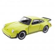 Toi-toys schaalmodel porsche 911 turbo lime