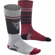 Dainese HG Calcetines Negro/Rojo L