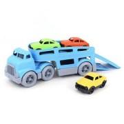 Camion de jucarie cu remorca pentru transportat masini din plastic reciclat Learning Resources