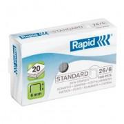 Capse RAPID Standard 26/6, 1000 buc/cutie