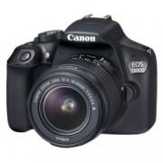 EOS-1300D 18-55mm + 75-300mm Black