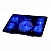 Laptop kylplatta med Neonljus
