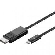 Goobay Cavo adattatore USB-C™ a DisplayPort 4K 1.2m Nero