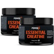 PowGen Essential Creatine Monohydrate Duo: pro více energie a rychlejší růst svalů. Obsahuje 60 porcí.