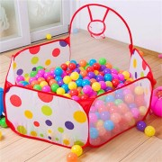 80x90x56mm Portable Ball Shooting Tent With Basket Kids Indoor Outdoor Playing Game Tent