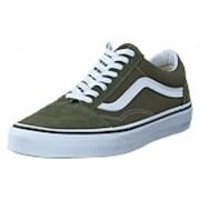 Vans Ua Old Skool Grape Leaf/true White, Shoes, grå, EU 43