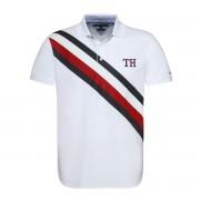 Tommy Hilfiger Poloshirt Icon Stripe aus Pikee, gerade Schnittform