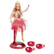"Barbie In The 12 Dancing Princesses: Interactive Princess Genevieve ""Let S Dance"" Doll"