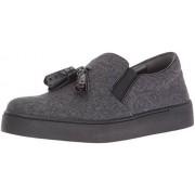 Nine West zapato de tela para mujer, Gris oscuro, 10