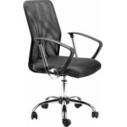 Scaun de birou ergonomic Atelier Krane mesh negru
