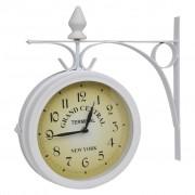 vidaXL Wall Clock Two-Sided Classic Design