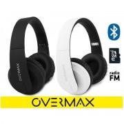 Overmax Soundboost 2.2 Hi-Fi Koptelefoon, opvouwbaar, bluetooth, draadloos met FM radio en MicroSD kaartlezer