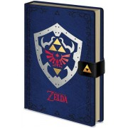 Legend of Zelda - Hylian Shield A5 Premium Notebook