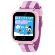 Ceas GPS Copii iUni Kid601, Telefon incorporat, Alarma SOS, 1.54 Inch, Touchscreen, Jocuri, Pink
