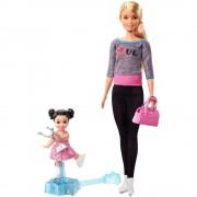 Set de joaca Mattel Barbie Cursul de Patinaj