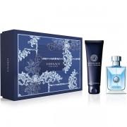 Versace Pour Homme Комплект (EDT 100ml + SG 150ml) за Мъже
