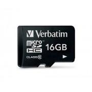 Card Verbatim microSDHC 16Gb (Class 10)