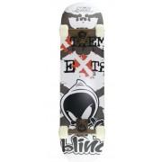 Skate za početnike crna & bijela 78 x 20 cm