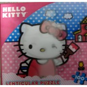 Hello Kitty Puzzle Lenticular 100 Pc