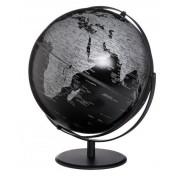 Emform Globus JURI Saturn Matt Black schwarz Designglobus 30cm Durchmesser Emform SE...