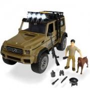 Детски Комплект Джип с ловец и куче, Дики, 23 см., 042100