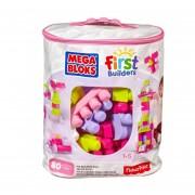 Mega Bloks Firs Builders Gran Bolsa Clàsica Rosa