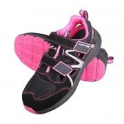 SANDA PIELE-INTOARSA-TESUT CU CAUCIUC (S1SRA) - 37