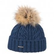 Stetson Bonnet à Pompon Pellone bleu