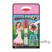 Melissa & Doug Kreatív játék Színrobbanás színező füzet hercegnő