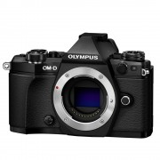 Olympus OM-D E-M5 Mark II Body Aparat Foto Mirrorless 16MP MFT Full HD Negru