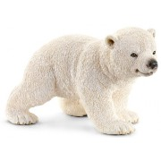 Schleich Figurina Animal Pui de urs polar mergand
