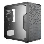 Кутия CoolerMaster MasterBox Q300L, Micro ATX/Micro ITX,, 2x USB 3.0, прозорец, черна, без захранване