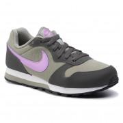 Nike Buty NIKE - Md Runner 2 (GS) 807319 015 Dark Stucco/Fuchsia Glow