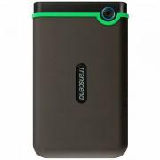 Transcend 2TB StoreJet 2.5 M3S, portable HDD USB 3.1 Gen 1 USB Type-A Iron Gray Slim, EAN 0760557840886 TS2TSJ25M3S