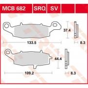 mx crossdelar bromsar Bromsbelägg till MC - KAWASAKI VN 1600 VULCAN CLASSIC - KAWASAKI VN 1600 VULCAN CLASSIC 2008 - TRW - Ceramic Standard
