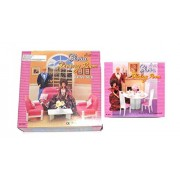 New Barbie, Gloria, Doll House Furniture (Set Of 2) Living And Dining Room