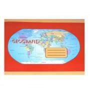 Caiet Geografie Format B5, 24 File, Dictando + Veline - Tip Special de Caiet Scolar