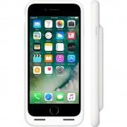 Apple Husa Smart + Baterie Externa pentru Apple iPhone 7, Alb