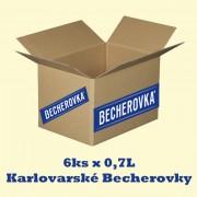 Becherovka kartón 6 x 0,7L 38%