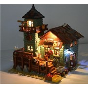 Lighting kit for LEGO Ideas Old Fishing Store 21310 ( lego set not included)