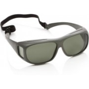 Polaroid Spectacle Sunglasses(Green)