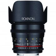 Rokinon DS50M-NEX Cine DS 50 Mm T1.5 AS IF UMC Full Frame Cine Wide Angle Lens For Sony Alpha Cameras